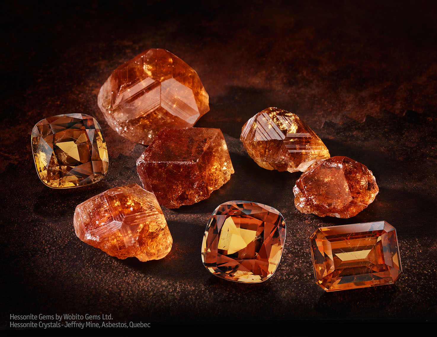 Hessonite, Gems, Hessonite Rough Gem
